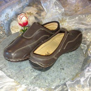 Bjorndal Athens Brown Clogs 6